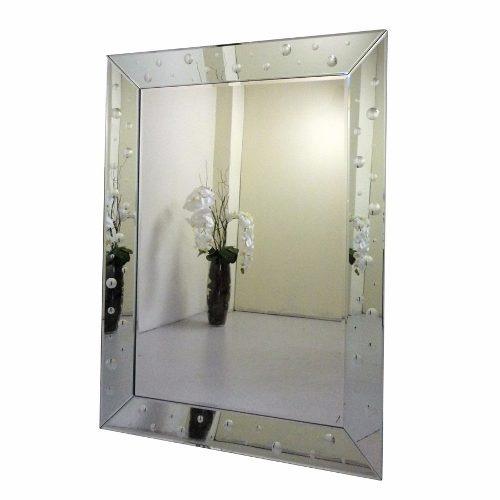 Espelho Para Sala De Jantar Grande ~ Espelhos Bisotado Para Sala De Jantar Grande Retangular  R$ 839,00 no
