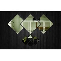 Espelho Decorativo - Quadrados Ref. E013