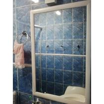Espelho P/banheiro 90x60cm C/moldura/ Frete Só P/gd. S.paulo