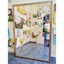 Espelho Grande 170x120cm C/ Moldura/ Frete Só P/ S. Paulo-sp