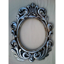 Espelho Antique Rococó / Moldura Em Resina ( 86 X 66cm )