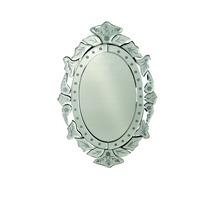 Espelho Veneziano ( 31,4 X 50 Cm ) Oval Xa0074 - Btc