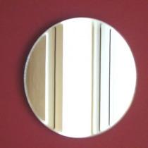 3 Espelhos Redondos De 22cm Em Acrílico