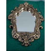 #1077# Espelho Colonial Dourado!!!
