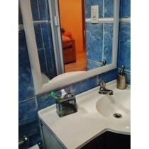Espelho P/banheiro 61x44cm C/moldura Enviamos P/ Todo Brasil