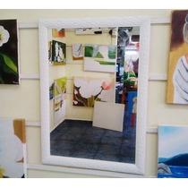 Espelho Grande 80x90cm C/ Moldura/ Enviamos Para Todo Brasil