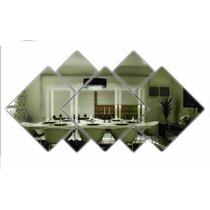 Espelho Decorativo Para Sala De Jantar Quadrados Variados
