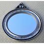 Espelho Decorativo Moldura Em Resina Prata Antigo