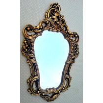 Espelho Veneziano Em Ouro Velho - Pop Decorei