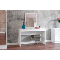 Espelho Com Moldura Para Mesa Quarto Banheiro 80cm X 60cm