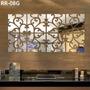 Espelho Decorativo Acrílico 1,24x0,62m Sala Quarto Grande