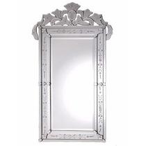 Espelho Veneziano Para Parede Sala Vintage Retangular
