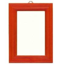 Espelho De Parede Nº 12 - Moldura Plástica - 12 X 16 Cm