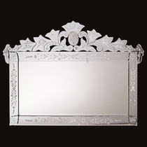 Espelho Veneziano Medio Bisotado Decorativo Retrô Barato !!