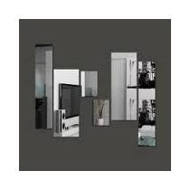 Espelho Decorativo Kit Retângulos Em Acrílico, Frete Grátis