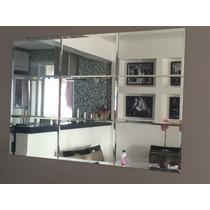 Espelho Em Vidro 4mm Decorativo Com Bisote