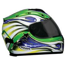 Capacetes Nasa Sh-821 Brasil * Moto Zero *
