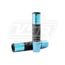 Manopla Esportiva Sem Peso Azul Moto Honda Twister 250