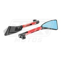 Espelho Retrovisor Esportivo Moto Preto Tomok Hornet 650