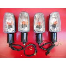 Jogo Piscas Titan 125,150 Modelo Mini Cristal Gvs Cod 4488