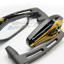 Espelho Retrovisor Esportivo Moto Universal Naked Dourado