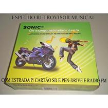 Retrovisor Com Mp3 E Radio Fm