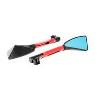 Espelho Retrovisor Esportivo Moto Vermelho Rizoma Xtz150