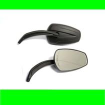 Retrovisor Black Stream-harley/custom/chopper/triciclo/honda