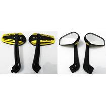 Retrovisor Dourado 1 Hornet Cb500 Fazer Twister Ybr Cg Mix