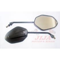 Espelho Titan Fan 125/ 150 2014 / Par Modelo Original Lente