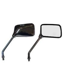 Espelho Retrovisor Cromado Twister Cb 300 Falcon Cb500 Titan