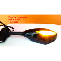 Retrovisor Pisca Led Moto Carenada Cbr 250 Ninja 300 Gtr Bmw