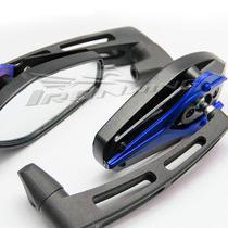 Espelho Retrovisor Esportivo Moto Universal Naked Azul