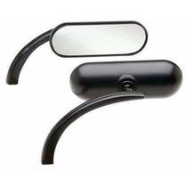 Retrovisor Arlen Ness Mini Black -universal-pronta Entrega