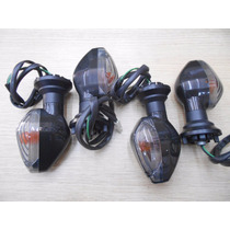 4 Mini Piscas Titan 150 2014 2015 Fume Cristal Gvs 1869,1870