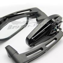 Espelho Retrovisor Esportivo Moto Universal Naked Preto
