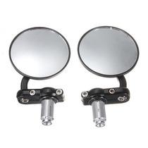 Espelho Retrovisor Guidon Moto- Par - Frete Grátis