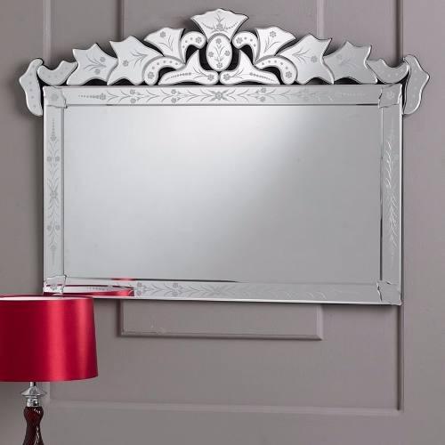 Espelho Grande Para Sala De Estar ~ Espelhos Veneziano Para Sala De Estar Grande Retangular  R$ 1399,00