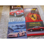 Ferrari Lote Fechado Com 4 Livros Capa Dura Queima Estoque