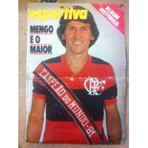 Revistas Flamengo Campeão Mundial 81 Poster Manchete Placar