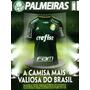 Revista Oficial Palmeiras # 7 = Camisa C/ Poster Evair Nova!