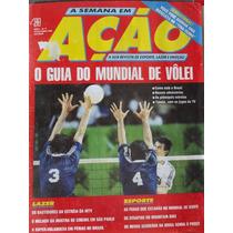 # Revista A Semana Em Ação - Vôlei Capa + Figurinhas Volei