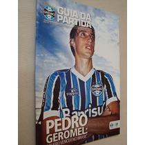 Revista Grêmio Guia Da Partida 75 2014 Vs Juventude