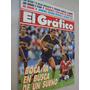 Revista El Gráfico 3671 1990 Mundial 1990; Milan