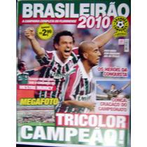 Pôster Fluminense Campeão Brasileiro 2010 - Tricolor Campeão