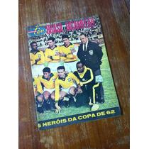 Revista Sétimo Céu Brasil Bicampeão Junho De 1962