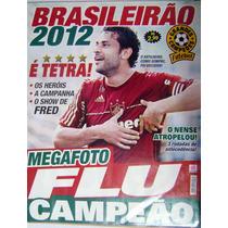 Pôster Fluminense Campeão Brasileiro 2012 - Flu Campeão