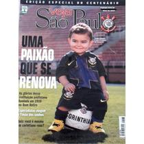 Corinthians Veja Sp Especial Centenário Otimo Estado