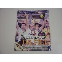 Revista Poster Corinthians Campeão Da Libertadores 2012
