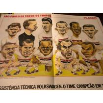 Poster Gigante São Paulo Melhor Time De Todos Os Tempos